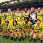 Le FC Nantes réédite trois de ses maillots mythiques