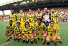 Image de l'article Le FC Nantes réédite trois de ses maillots mythiques