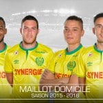 Umbro présente les maillots 2015-2016 du FC Nantes