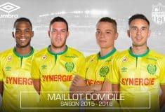 Image de l'article Umbro présente les maillots 2015-2016 du FC Nantes