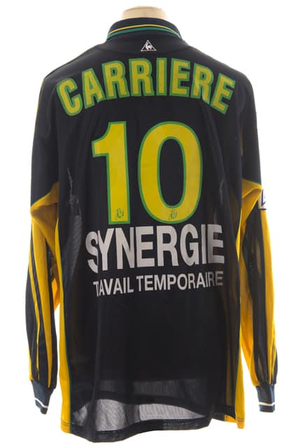 maillot-fc-nantes-eric-carriere-saison-2000-2001-dos