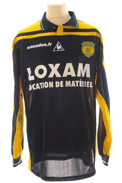 maillot-fc-nantes-eric-carriere-saison-2000-2001