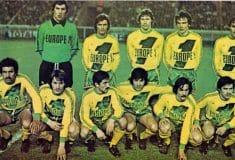 Image de l'article La grande histoire du FC Nantes à travers ses maillots