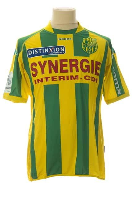 maillot-fc-nantes-guillaume-moullec-saison-2009-2010