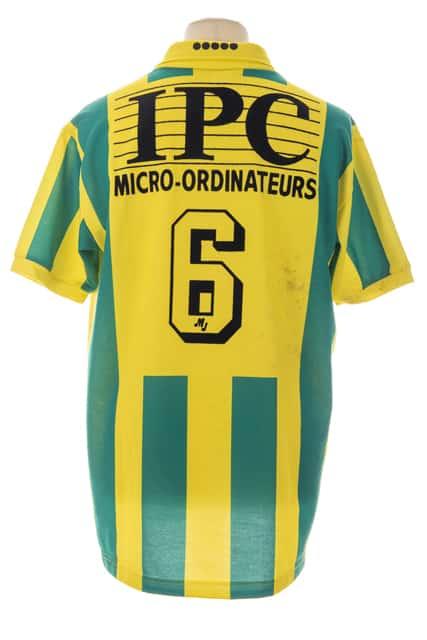 maillot-fc-nantes-jean-michel-ferri-saison-1994-1995-dos