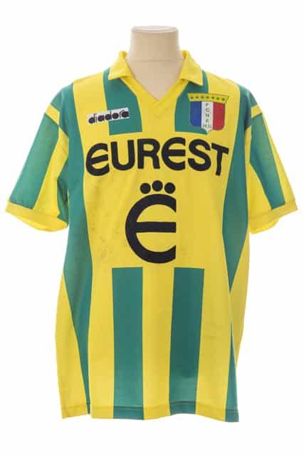maillot-fc-nantes-jean-michel-ferri-saison-1994-1995