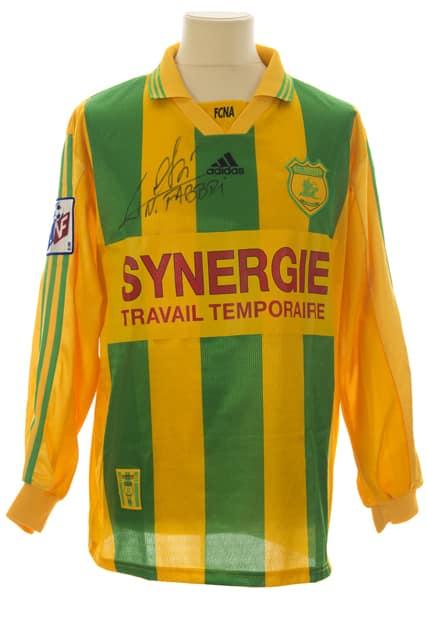 maillot-fc-nantes-nestor-fabbri-saison-1999-2000