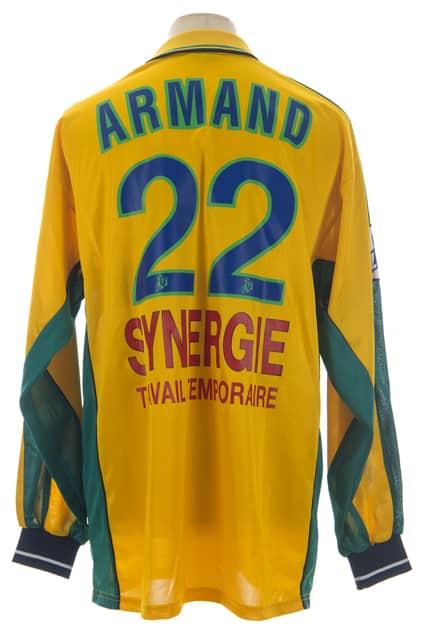 maillot-fc-nantes-sylvain-armand-saison-2000-2001-dos