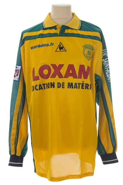 maillot-fc-nantes-sylvain-armand-saison-2000-2001