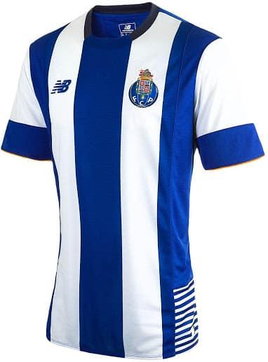 Après avoir dévoilé ses nouveaux silos de chaussures, New Balance présente le maillot domicile 2015-2016 du FC Porto