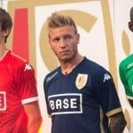 Kappa présente les maillots 2015-2016 du Standard de Liège
