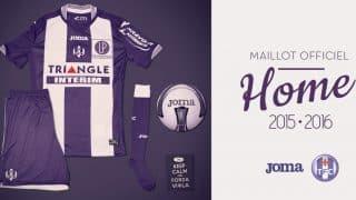 Image de l'article Joma arrive en Ligue 1 avec le Toulouse Football Club