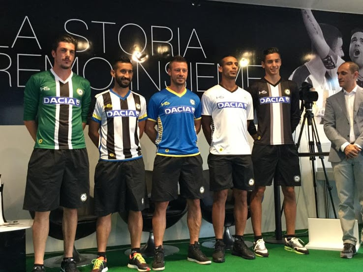 Maillot Udinese 2015-2016