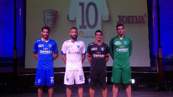 Maillots Empoli 2015-2016