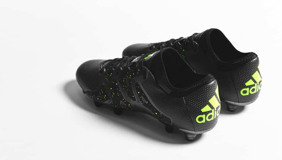 chaussure-football-adidas-X15-noir-jaune