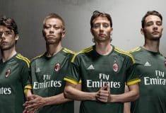 Image de l'article adidas dévoile les maillots 2015-2016 de l'AC Milan