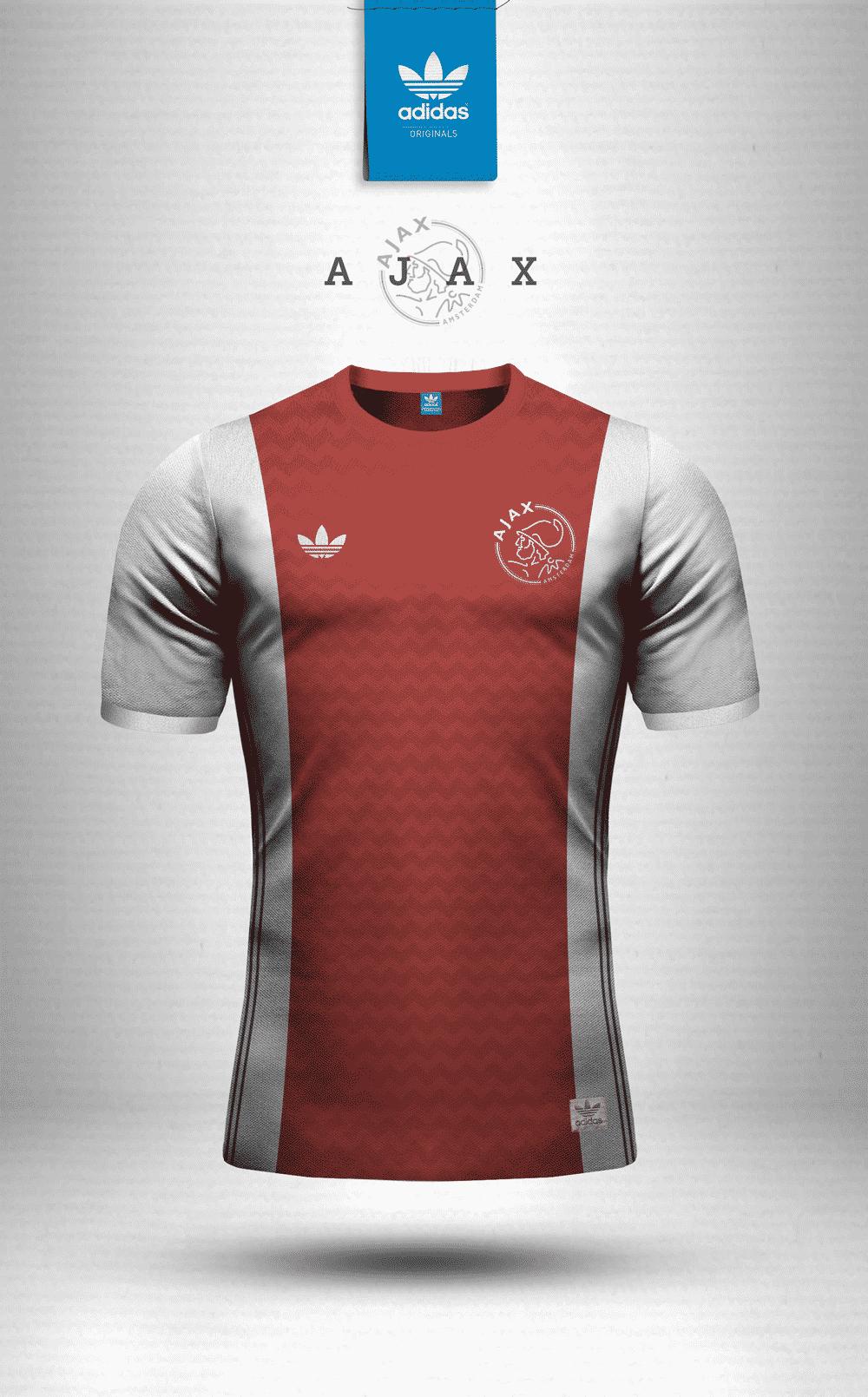 tenue de foot AJAX de foot