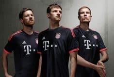 Image de l'article adidas dévoile les maillots 2015-2016 du Bayern Munich