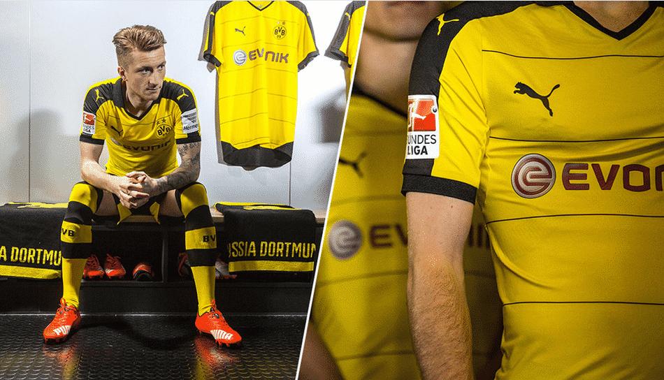 Encore finaliste de la Ligue des Champions il y à 2 ans, le Borussia Dortmund vient de dévoiler ses nouveaux maillots Puma pour la saison 2015-2016