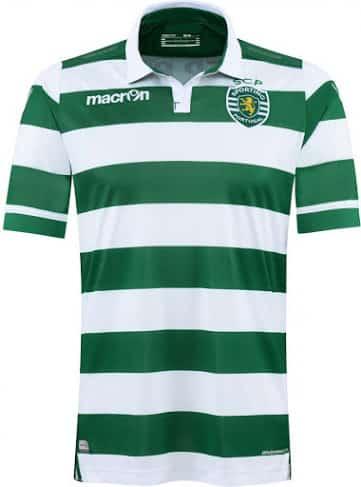 Équipé par Macron, le Sporting Portugal vient de dévoiler ses nouveaux maillots pour la saison 2015-2016