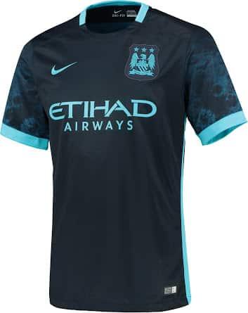 Maillot Domicile Manchester City noir