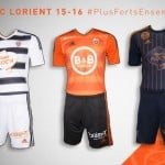 adidas dévoile les maillots 2015-2016 du FC Lorient