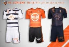 Image de l'article adidas dévoile les maillots 2015-2016 du FC Lorient