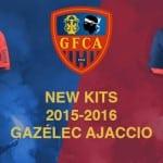 Macron dévoile les maillots 2015-2016 du Gazélec Ajaccio
