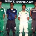 Puma présente les maillots 2015-2016 du Panathinaikos