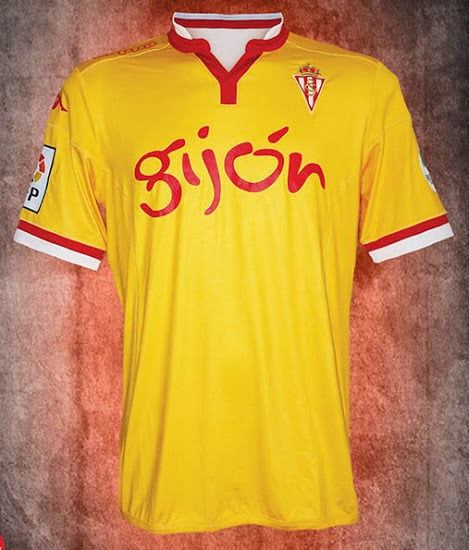 Maillot Sporting Gijon 2015-2016