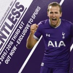 Les maillots 2015-2016 de Tottenham par Under Armour