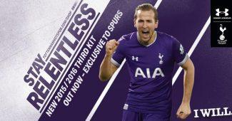 Image de l'article Les maillots 2015-2016 de Tottenham par Under Armour