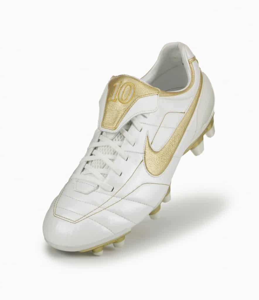 "Nike Tiempo Legend ""Touch of Gold"" édition 2005"