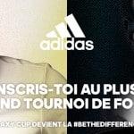adidas lance la #BeTheDifference Cup