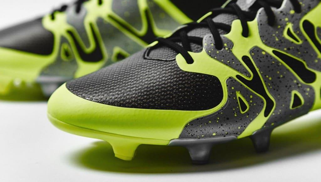 chaussure-football-adidas-X15-noir-jaune-argent-3