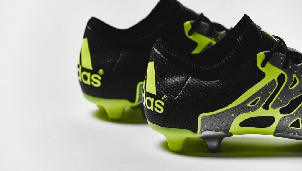 chaussure-football-adidas-X15-noir-jaune-argent-4