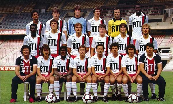 Maillot Paris Saint-Germain 1982-1983