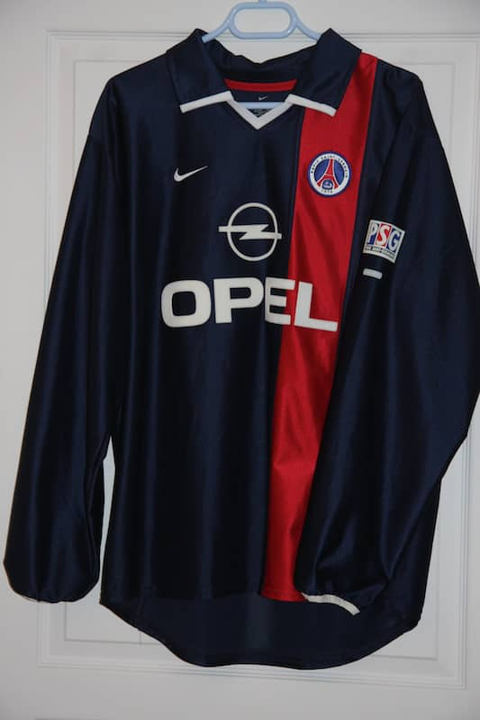 Maillot Paris Saint-Germain 2001-2002