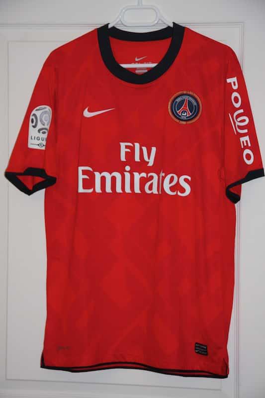 Maillot Paris Saint-Germain 2010-2011