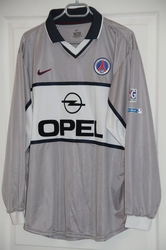 Maillot Paris Saint-Germain 2000-2001