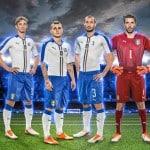 Puma présente le maillot extérieur de l'Italie pour l'Euro 2016