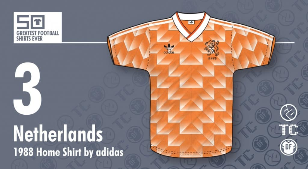Après vous avoir dévoilé les maillots de la saison 2015-2016, découvrez les 20 plus beaux maillots de l'histoire du football.