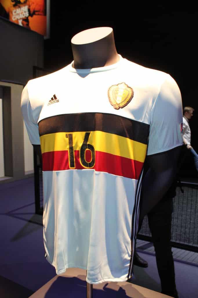 Belgique away