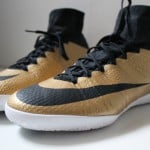 Test de la Nike MercurialX Proximo IC « Metallic Gold »