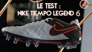 Image de l'article Découverte et test de la Nike Tiempo Legend 6