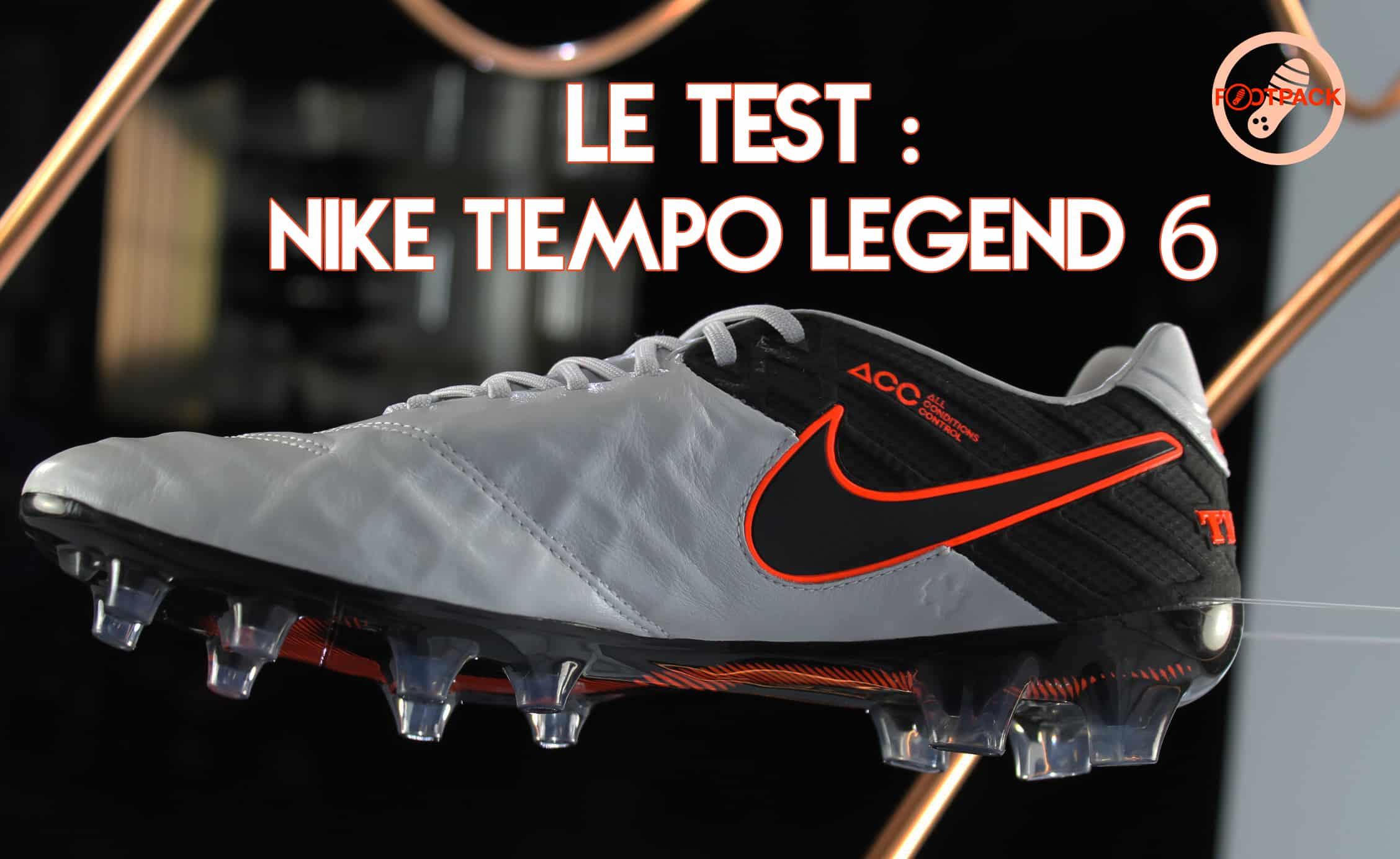 Découverte et test de la Nike Tiempo Legend 6 8c9b12cf37b3