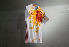 Image de l'article adidas présente les maillots de l'Espagne pour l'Euro 2016