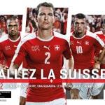 Les équipements de la Suisse (Groupe A)