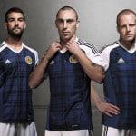 adidas dévoile les maillots 2016 de l'Ecosse