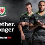 adidas dévoile les maillots du Pays de Galles pour l'Euro 2016